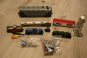 Lot Of Vintage Toy Trains Tanks Boxcar Dow Spirit 76 Gulf Phillips Pspx Pa 6123