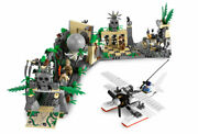 Lego 7623 Indiana Jones Escape From The Temple Rare Set Of 2008