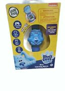 Blues Clues And You Learning Watch Leap Frog Tell Time And Play Games New Nib