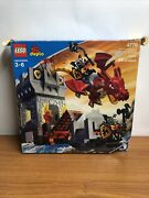 Lego Duplo 4776 Dragon Tower - Ultra Rare - Missing Flag On Top - 99 Complete