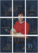 Smallville Season 5 Triangles Insert Set Tr1-tr9 9 Tom Welling Clark Kent And Co