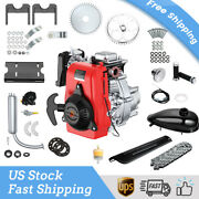 Full Set 49cc 4-stroke Engine Motor Motorcycle 51km/h Air-cooled Ohv W/415 Chain