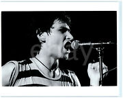 Paul King Of The British New Wave Band King On Stage 1980s Vintage Photo 8x10