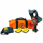 Klein Tools Bat20gd10 Cable Cutter Gear Cutter Battery Operated Kit...