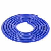 Shineyoo Silicone Vacuum Tubing Hose 10ft Id 0.24and039and039 6mm Od 0.43and039and039 11mm Blue C...