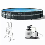 Intex Ultra Xtr 26339eh Frame Round Pool Set 24and039 X 52 In Hand Ready To Ship🔥
