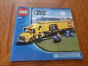 Instructions For Lego City Truck 3221 - Manual Only