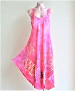 Sale India Boutique Umbrella Style Long Dress /cover Up Free Size, One Size Nwt