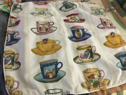 Disney Teacups Alice In Wonderland Pillowcase Cover Only No Pillow