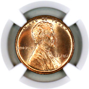 1910-p Ms66 Rd Ngc Lincoln Wheat Penny Superb Registry Quality Collection