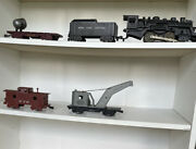 Vintage Post War Lionel Trains Lot W/ Cars Tracks And More