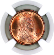 1909 Vdb Ms66 Rd Ngc Lincoln Wheat Penny Registry Quality Collection
