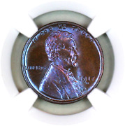 1917-d Ms66 Bn Ngc Lincoln Wheat Penny Superb Registry Quality Collection