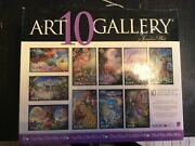 10 Art Gallery Josephine Wall Assorted Sizes,jigsaw Puzzle Preowned Complete