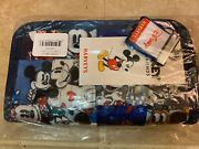 Nwt Harveys Seatbelt Mickey Disney Patchwork Classic Wallet Sold Out
