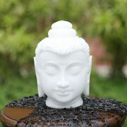 Mediation Buddha Head Statue Handmade Collectible Gift For Her Wedding Décor