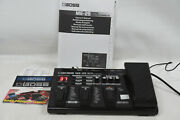 Boss Me-25 Multi-effects Guitar Effect Pedal With Manual And Power Supply