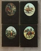 Lot 4 Time Life Books The Old West Series Cowboys, 49ers, Rivermen,soldiers Vgc