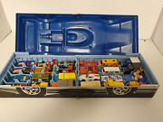 Vintage Lesney Matchbox Collecters Case And 1970s Matchbox 24 Cars