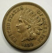 1859 Indian Head Penny- 1c 22