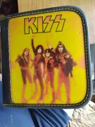 Kiss Cd Wallet Reunion Era Cover - Army On Back - Holds 24 Discs