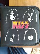 Kiss Cd Wallet Solo 1978 Faces Cover - Holds 24 Discs