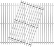 Bbq Gas Grill Cooking Grates Grid 3-pack 17 3/4 Kit For Brinkmann Master Forge