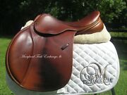 17 County Sensation Close Contact Jumping Saddle Upgraded Leather-2011 Model