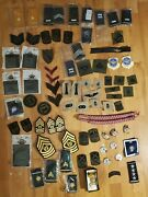 Lot Of 70 + Military Patches Army Usaf Marines Navy New Lot 15