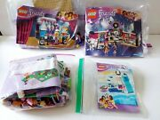 Lego Friends Lot 41004 41104 41043 Treehouse 100 Complete Instructions