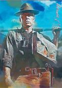 Lee Marvin Artist Signed Giclee Print Card 1 50/50 2019