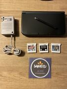 Used And039newand039 Nintendo 3ds Xl Console Black Monster Hunter Bravely Second Pokemon Y