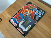 Grandstand Pinball Wizard Vintage 1988 Lcd Handheld Electronic Game - Near Mint.