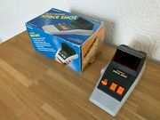 Boxed Rare Tandy Space Shot Vintage 1982 Led Handheld Electronic Game - Superb.