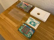 Rare Boxed Gakken Soccer Calcio 1983 Vintage Electronic Lcd Card Game - Nr. Mint