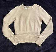2002 Vintage Sweater With Pearl Buttons