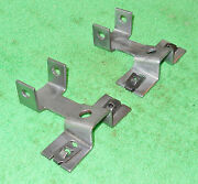 1960 Lincoln Convert Cp Premiere Continental Orig Front Seat Lower Rear Brackets