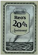 1924 Reo Trucks And Cars Story And Pics 20th Anniversary Of Company - Officer Pics