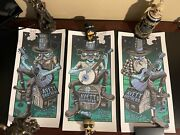 The Avett Brothers Bonnaroo Farm Poster. Three Posters, One From Each Night.