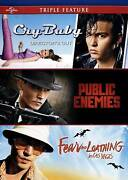 Cry-baby / Public Enemies / Fear And Loathing In Las Vegas Triple Feature [dvd]