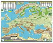 Gmt Wwii Unconditional Surrender - Mounted Map Set Nm