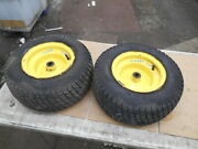 John Deere Lx280 Lawnandgarden Tractor Front Rims And Tires