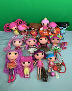 Lalaloopsy Doll Full Size 12 And Little Size 7 Lot