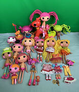 Lalaloopsy Lot Dolls And Accessories