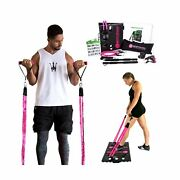 Bodyboss 2.0 - Full Portable Home Gym Workout Package 4 Band