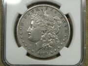1889 Cc Morgan Silver Dollar Ngc Xf Details Cleaned Great Eye Appeal -018