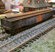 Proto 2000 Weathered Gondola Freight Box Car Western Pacific 52' - 6 Load Ho