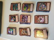 Yu-gi-oh Card Collection Lot Includes Rares Foils Over 1100 Cards Yugioh Cards