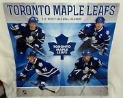 Toronto Maple Leafs Hockey 2014 Wall Calendar Monthly View With Players