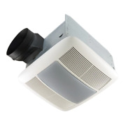 Qt Series 110 Cfm Ceiling Bathroom Exhaust Fan With Light And Nightlight Energy